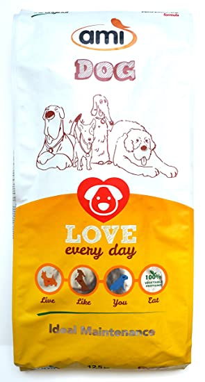Ami perro ideal de mantenimiento vegano comida de perro 4 x 12,5 kg oferta
