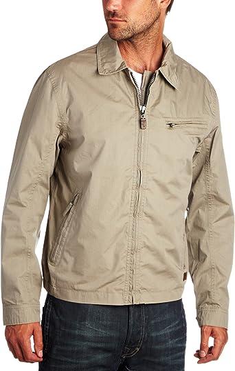 Príncipe Conciliador Remolque  Timberland Stratham Poplin Bomber Jacket Sand XXX-Large: Amazon.co.uk:  Clothing