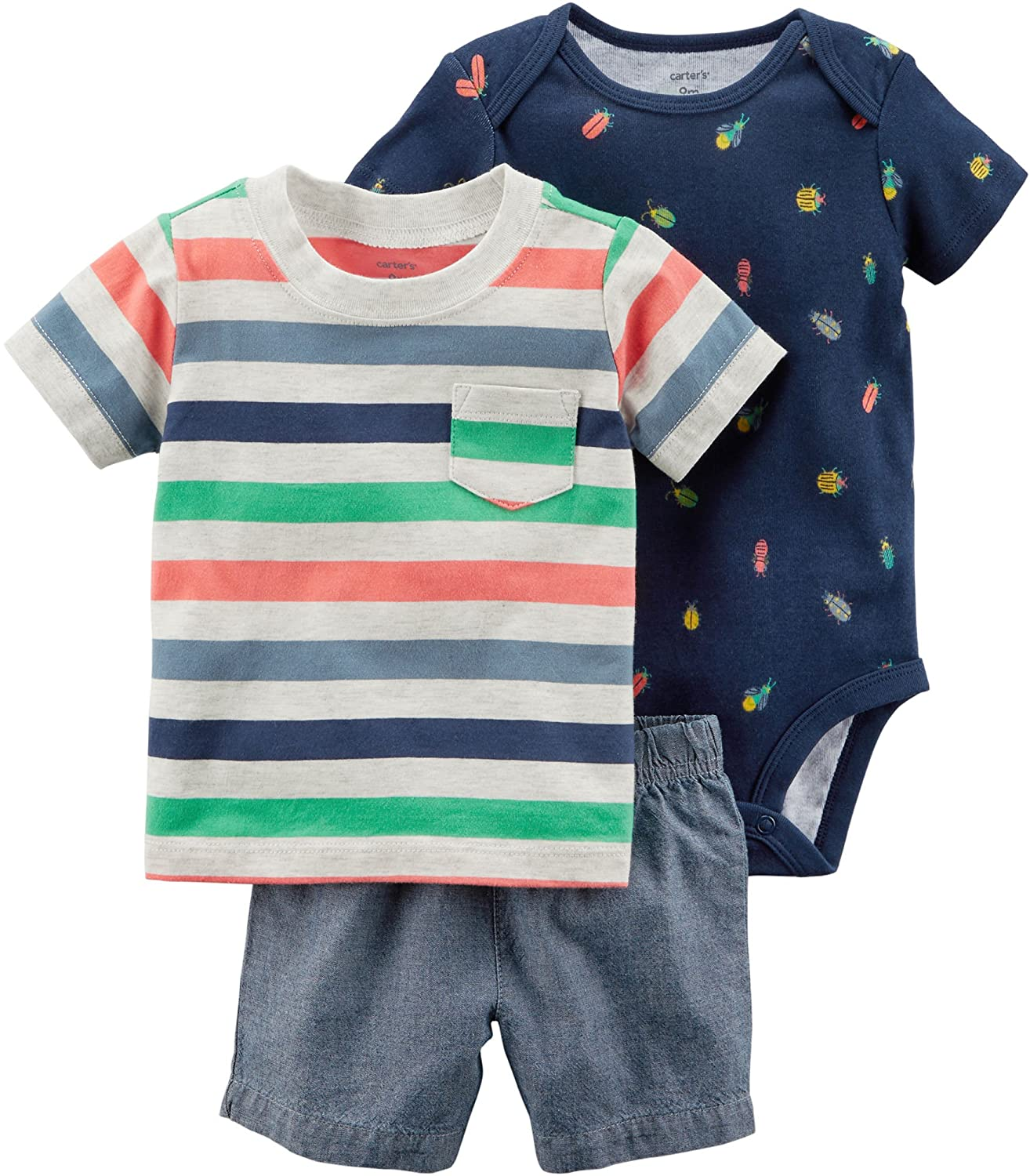 Carters Baby Boys Layette Set (Baby) Carter' s 1032082baby-boys