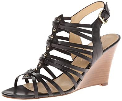 Amazon.com | Ivanka Trump Women's Boo Wedge Sandal | Platforms ...