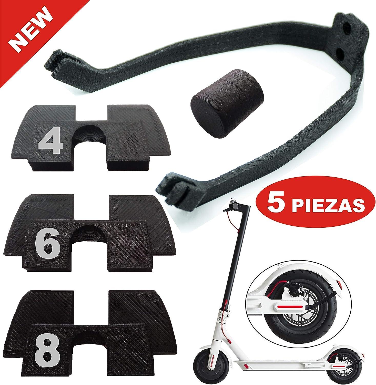 3x amortiguador de Goma 3D flexible anti holgura y vibración, 1x ...