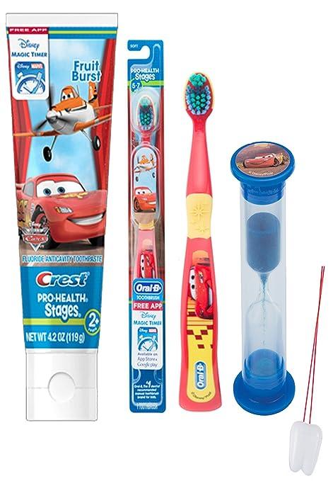 Disney Pixar Cars 3 brillante sonrisa oral higiene Set ...