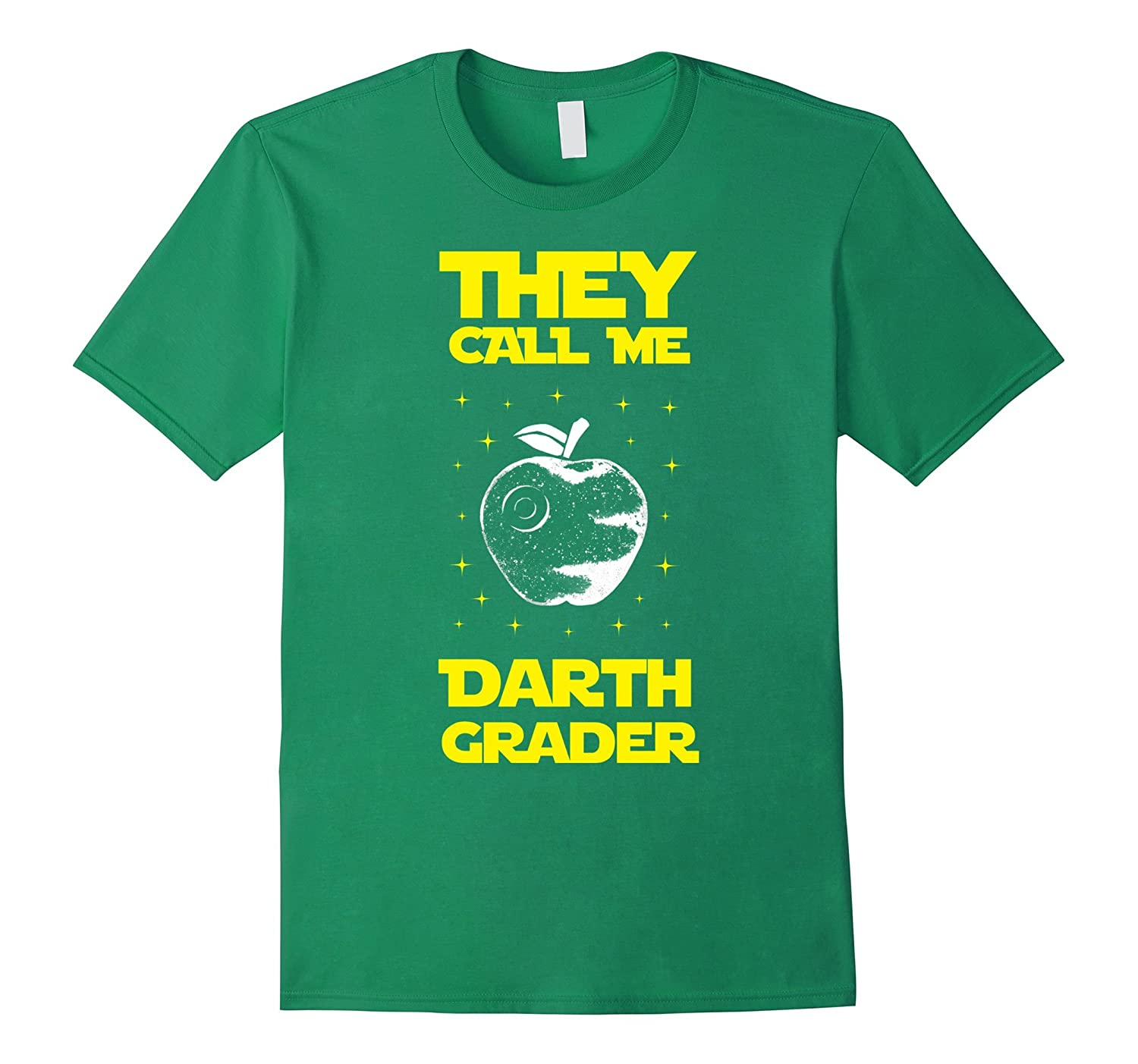 I Am Darth Grader Sci-Fi Space T-Shirt-Art