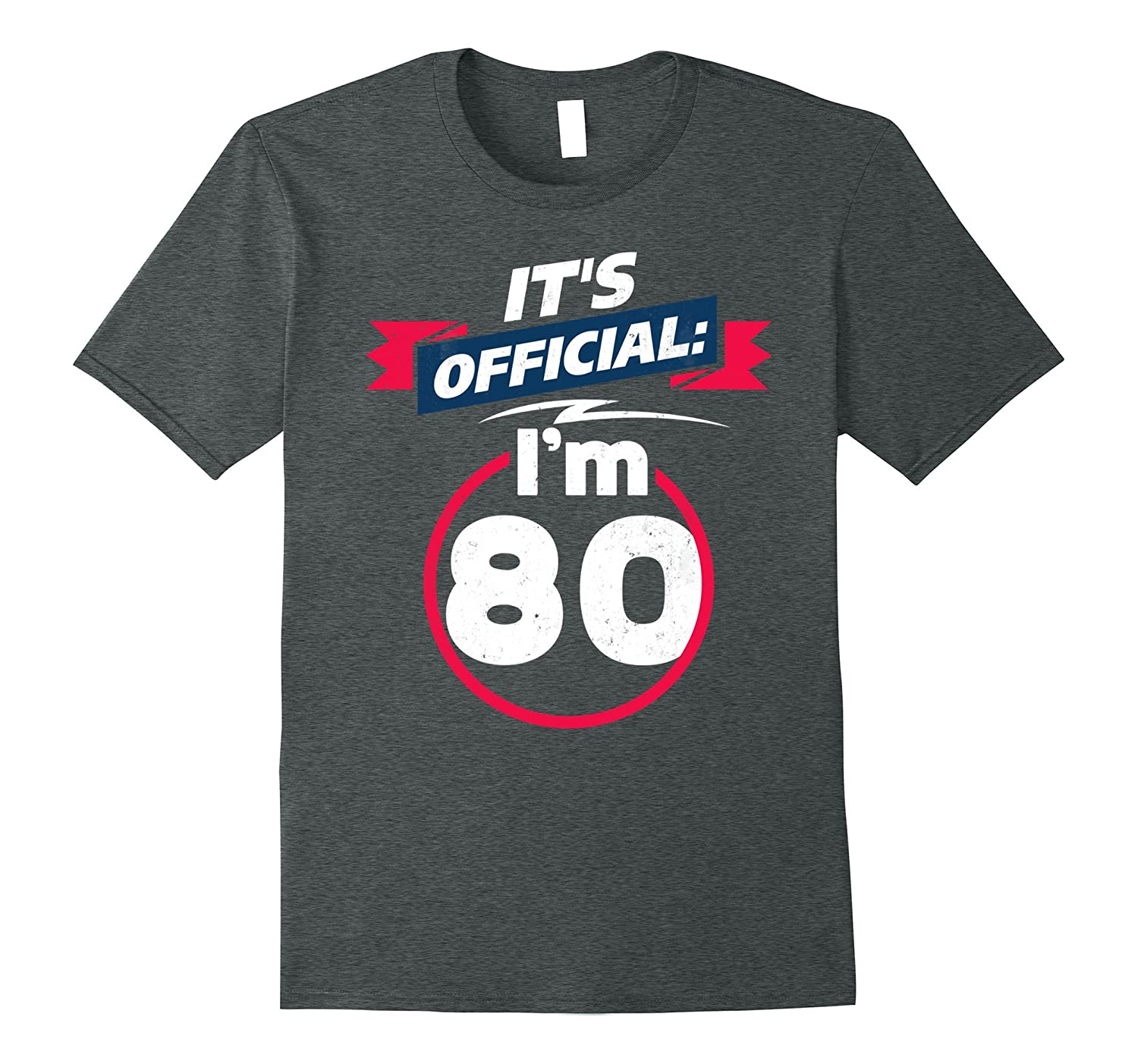 80 Year Old T Shirt 80th Birthday Present Idea Tee PL