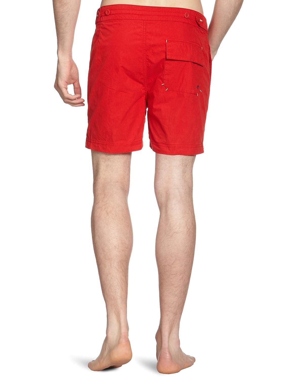 98f09c5b4 Amazon.com: Ben Sherman Men's Plectrum Lagoon Swim Short, New Target,  X-Large: Clothing
