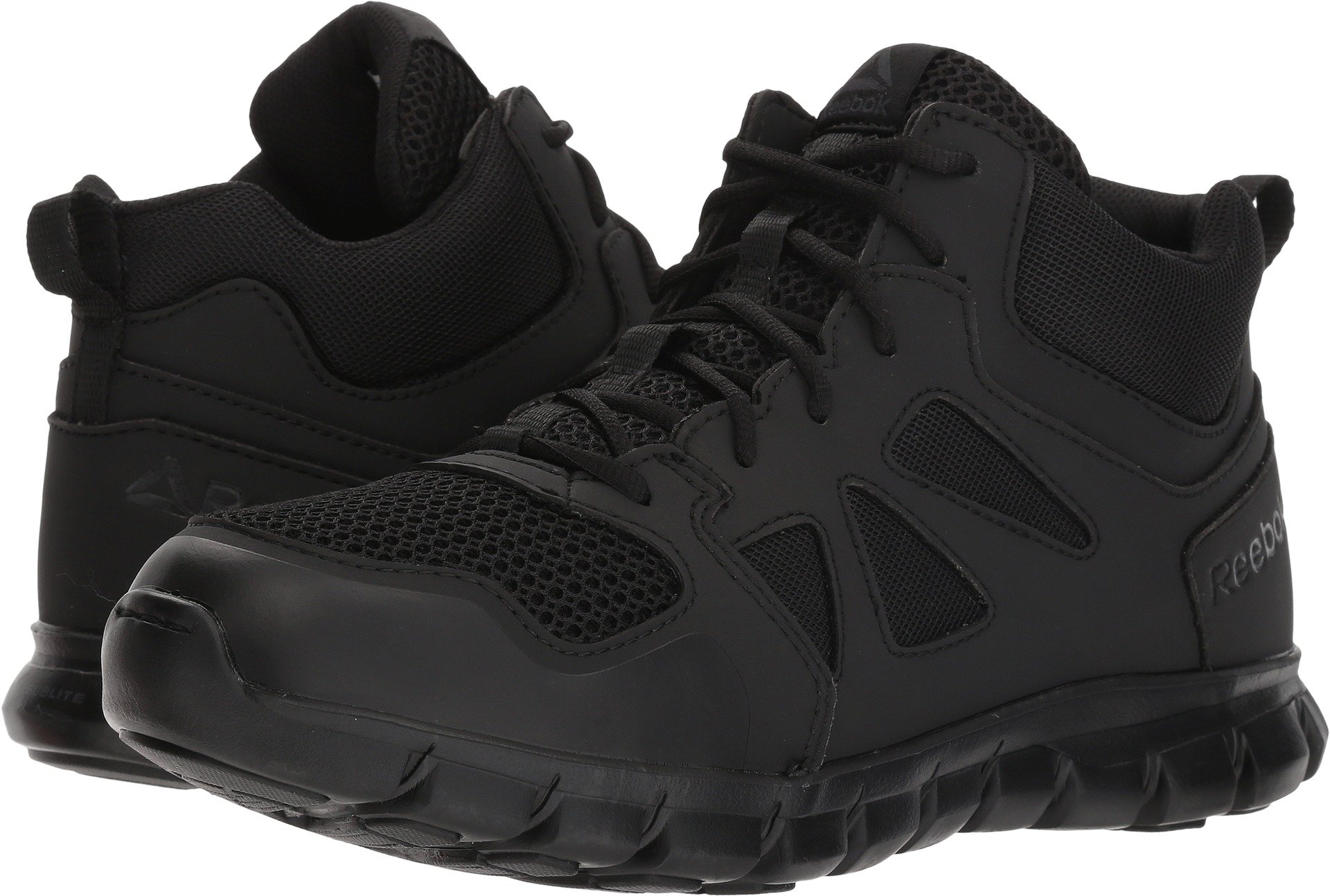 Reebok Men's Sublite Cushion RB8405 Military and Tactical Boot, Black, 10.5 W US