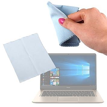 DURAGADGET Gamuza Limpiadora para Portátil Huawei MateBook D - Ideal para Mantener La Pantalla Intacta