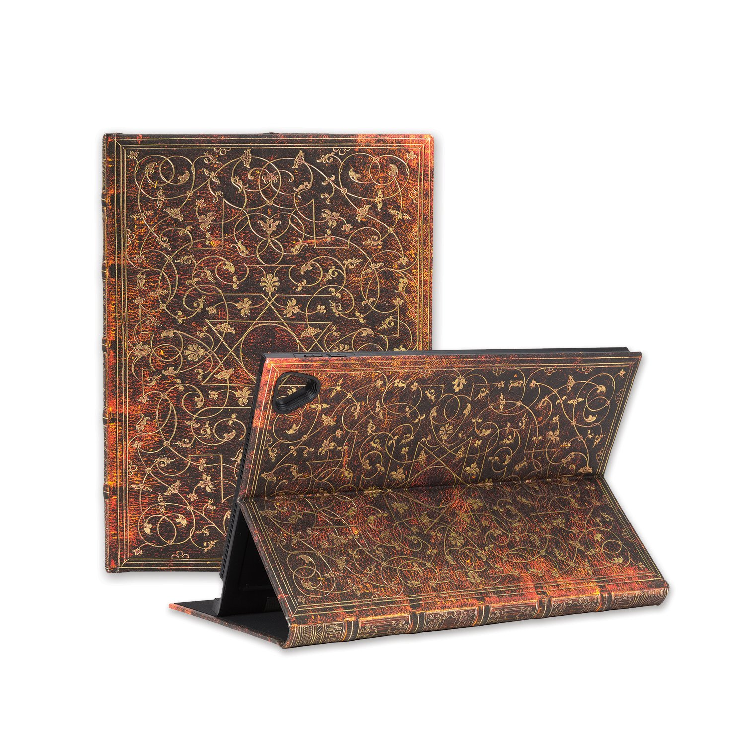 Paperblanks eXchange case for Apple iPad Pro 9.7 / Air 2, Infinite Viewing Angle Case – Grolier Design
