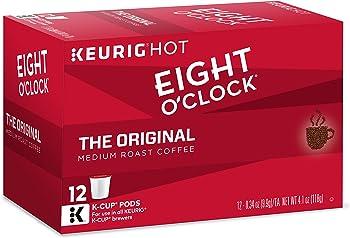 72-Count Eight O'Clock The Original Single Serve Coffee K-Cup Pod