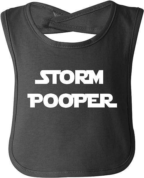 vest bodysuit Storm Pooper black baby grow