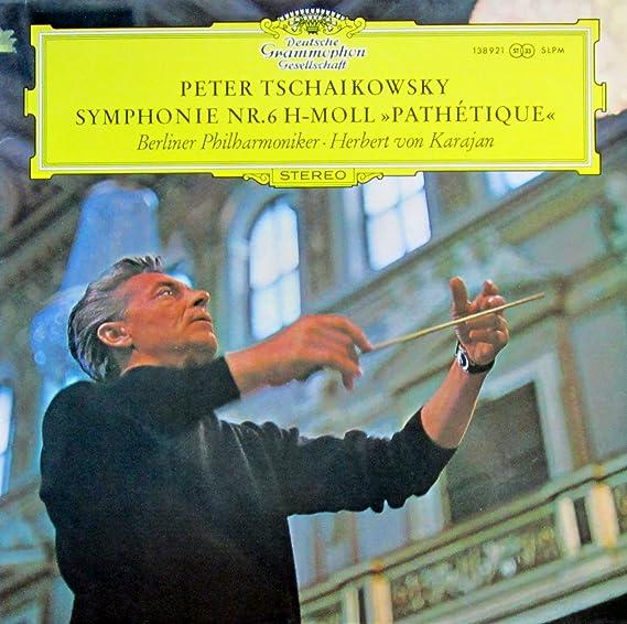 Tschaikowsky: Symphonie Nr. 6 h-moll op. 74 (Pathetique) [Vinyl LP] [Schallplatte]