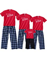 My Family Rocks Matching Pajamas for Men Women; Playwear for Kids