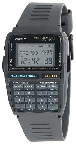 Casio DBC30-1 - Reloj para hombres, correa de resina color negro: Amazon.es: Relojes