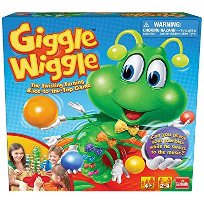 Giggle Wiggle - The Twisting Turning Race to Get Your Marbles to The Top Game: Toys & Games