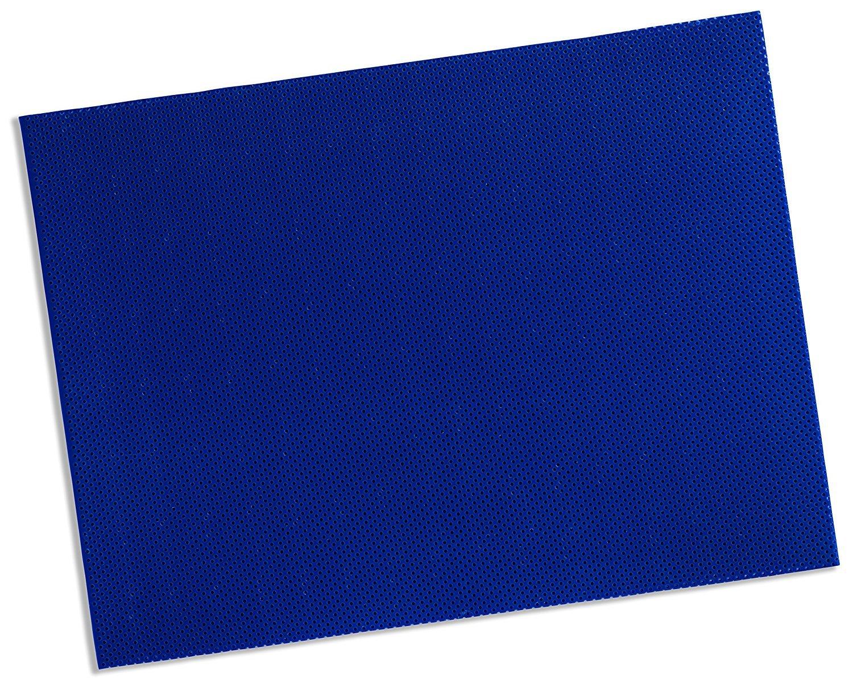 Rolyan Splinting Material Sheets, Aquaplast-T Watercolors, Royal Blue, 1/8'' x 18'' x 24'', 19% OptiPerf Perforated, 4 Sheets