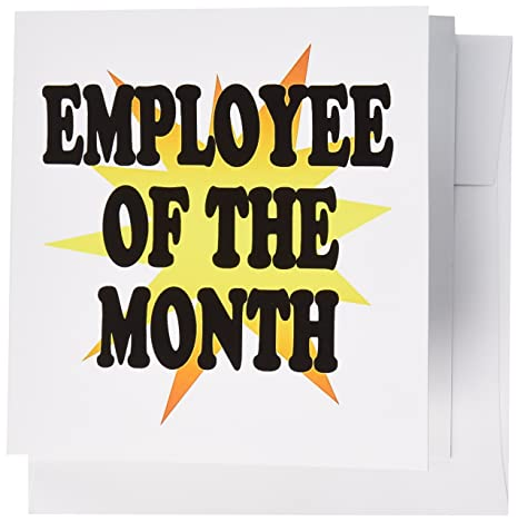 Amazon 3drose employee of the month greeting cards set of 12 3drose employee of the month greeting cards set of 12 gc1933152 m4hsunfo