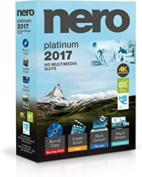 Nero 2017 Platinum Audio & Video Software