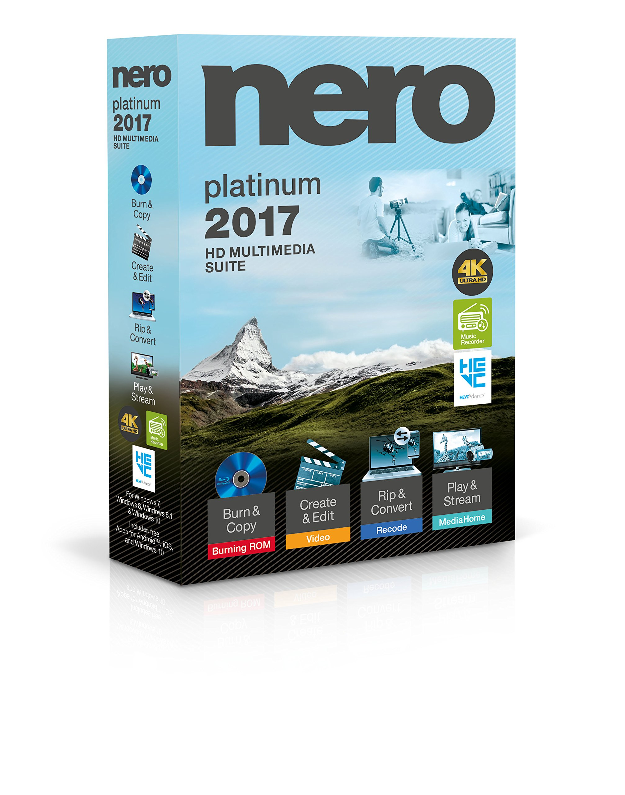 Nero 2017 Platinum by Nero