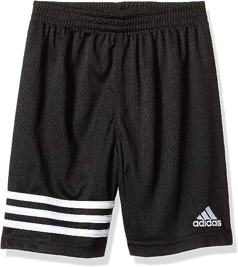 Boy/'s Bermuda Shorts Adidas Gray Black