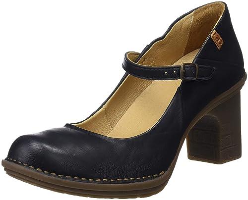 half off 2030e 43557 El Naturalista N5402 Dolce Black/Dovela, Scarpe con Cinturino alla Caviglia  Donna