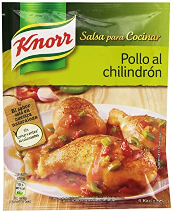 Knorr - Salsa Desh Pollo Chilindrón 52 gr