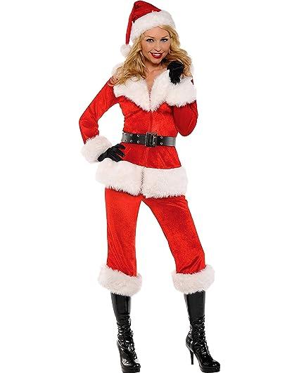 Amazon.com: De la Mujer Papá Noel bebé disfraz, talla única ...