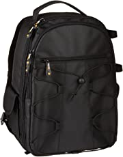 Amazon Basics Backpack for SLR/DSLR Cameras and Accessories - Black