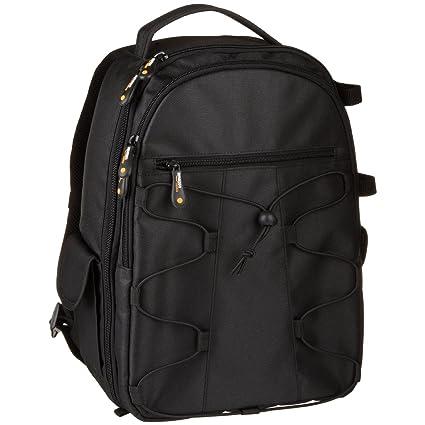 7e09c0d7c614 AmazonBasics Backpack for SLR DSLR Cameras and Accessories - Black