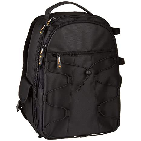 7fd26eeb1 Amazon.com   AmazonBasics Backpack for SLR DSLR Cameras and Accessories -  Black   Photographic Equipment Bags   Camera   Photo