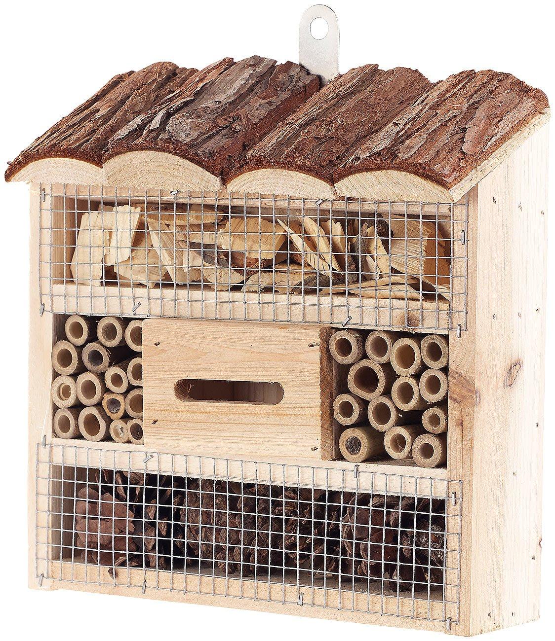 Hôtel à insectes pour jardin, cour, balcon ou terrasse - Petit Royal gardineer