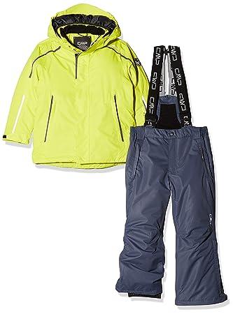 CMP Feel Warm Flat 3000, Set Jacke und gepolsterte Hose