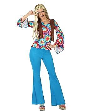 Atosa - 28454 - Para adultos traje - Hippie - T-1: Amazon.es ...