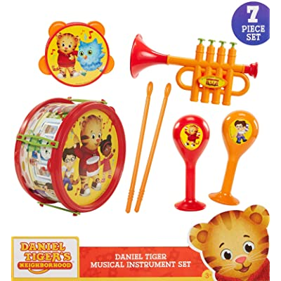 Daniel Tiger's Neighborhood Musical Instrument Playset, Multicolor: Toys & Games