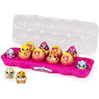 Hatchimals CollEGGtibles, Limmy Edish Exclusive Glamfetti 12-Pack Egg Carton, Easter Holiday Gift for Kids