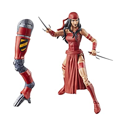 Spider-Man Legends Series 6-inch Elektra: Toys & Games