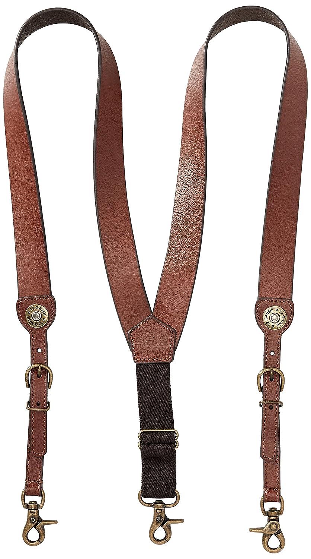 Nocona Belt Co. Men's Shot Shell Leather Suspender Ariat Men' s Accessories N85142