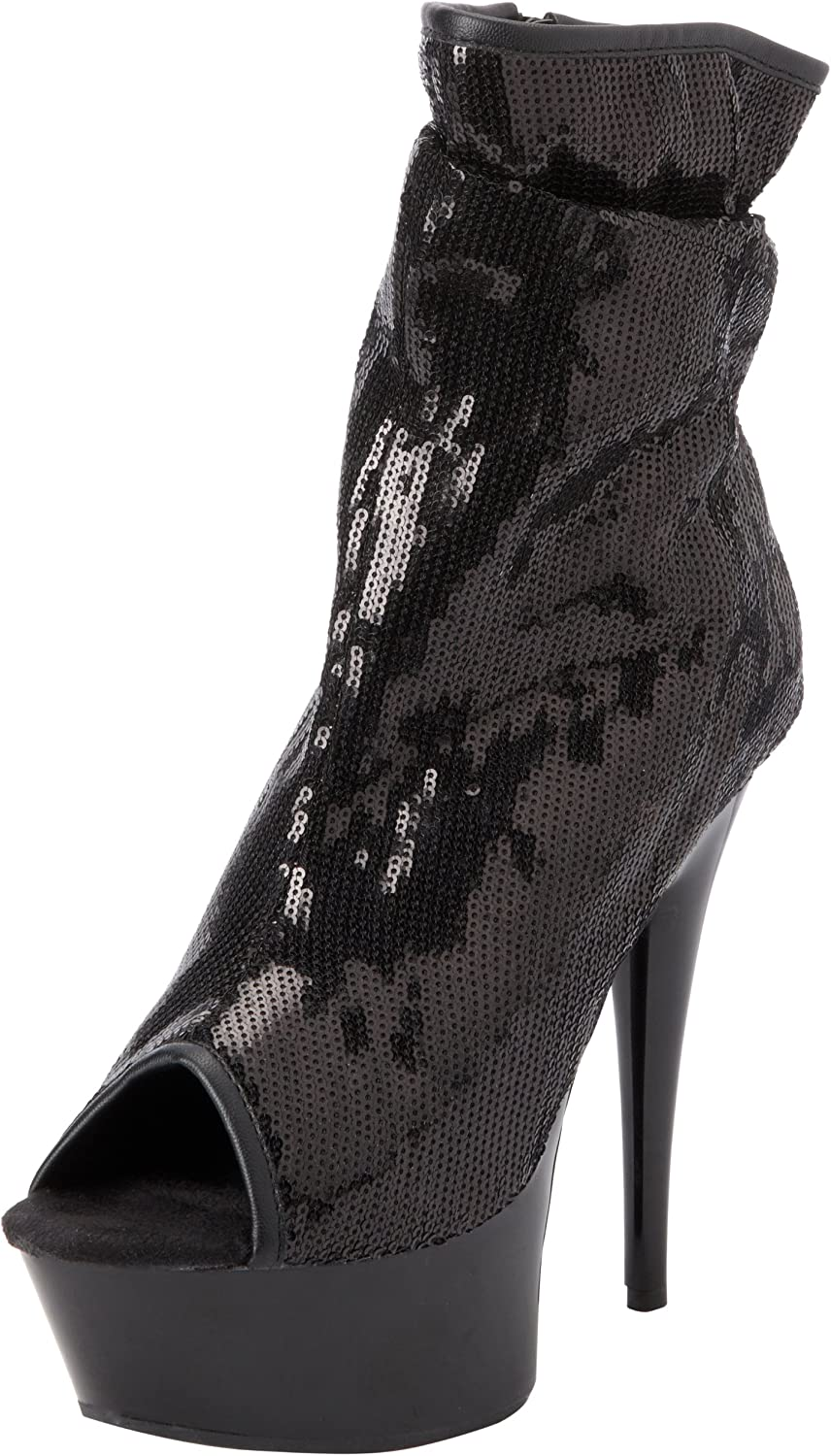 The Highest Heel Womens Amber-411 Bootie