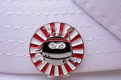 Amazon.com : Ninja Golf Ball Marker and Magnetic Hat Clip ...