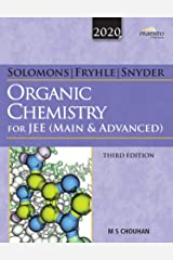Wiley's Solomons, Fryhle & Snyder Organic Chemistry for JEE (Main & Advanced), 3ed, 2020 Paperback
