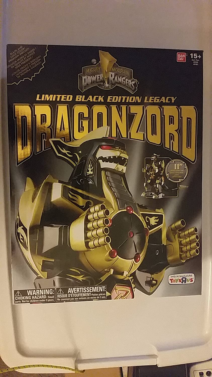 Power Rangers Limited Black Edition Legacy Dragonzord TRU ...