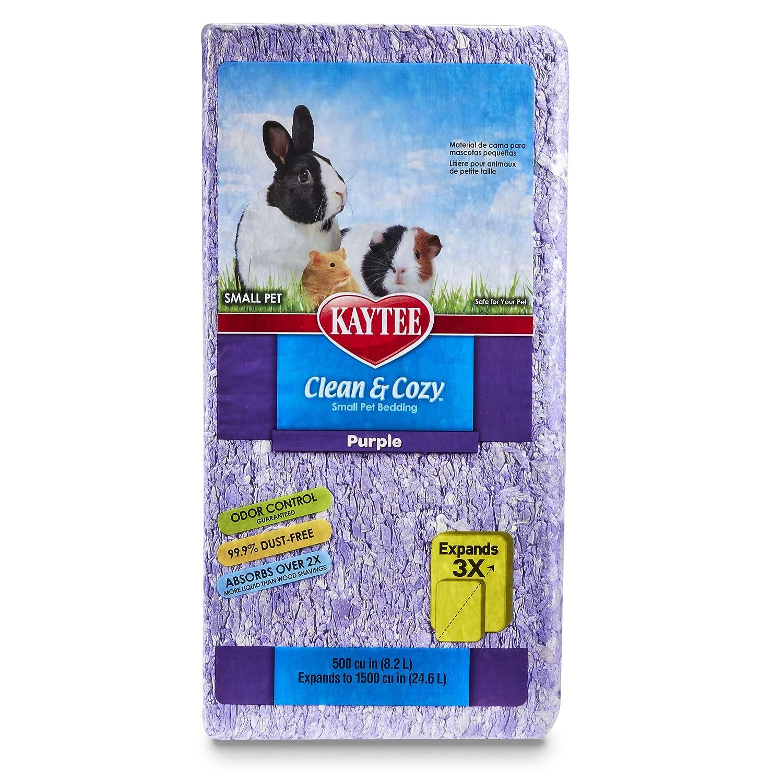 Kaytee Clean & Cozy Purple Bedding 500-Cubic-Inch