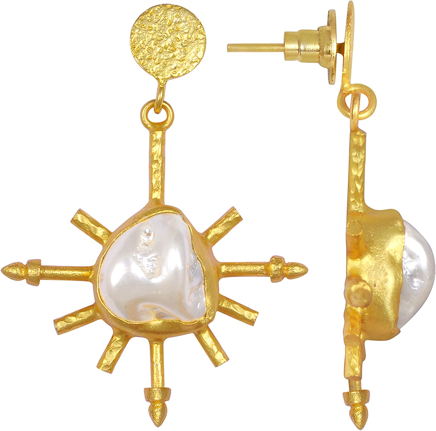 Washington Mall Orchid Jewelry Brass Hypoallergenic Dangle ! Super beauty product restock quality top! Sets Earrings For Wom