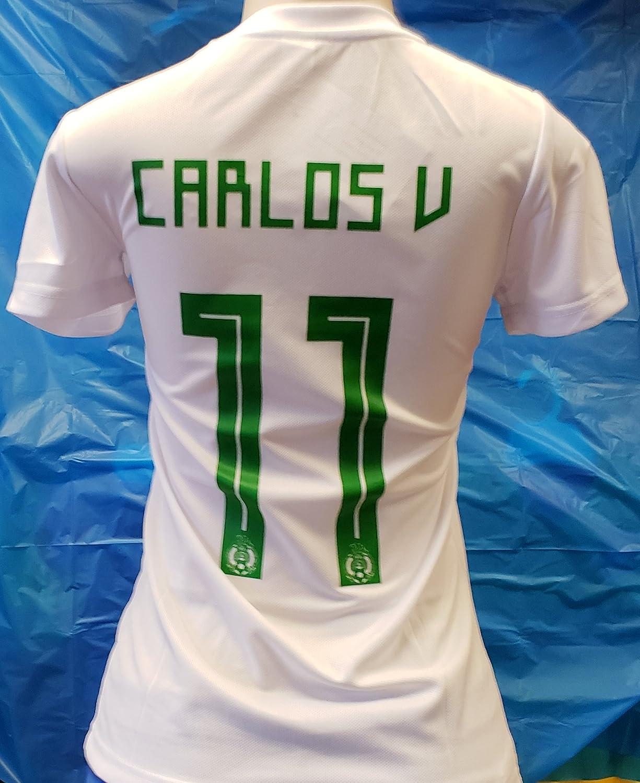 新しい。スポーツLadiesメキシコ国立チーム2018 Generic Vela JerseyサイズXLarge B07D6FHS4Y