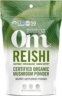 product image for Om Organic Mushroom Nutrition Supplement Reishi: Adaptogen, Immune Support, Longevity, 50 servings, 3.57oz, 100 Gram