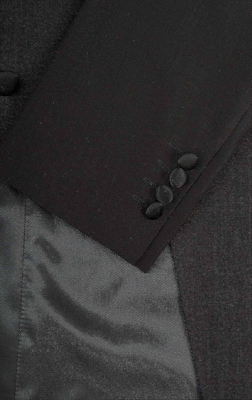 Dobell Mens Black Evening White Tie Tailcoat Jacket 100/% Wool