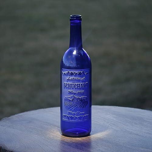 Amazon Personalized Wine Bottles Engraved Wedding Gift Handmade