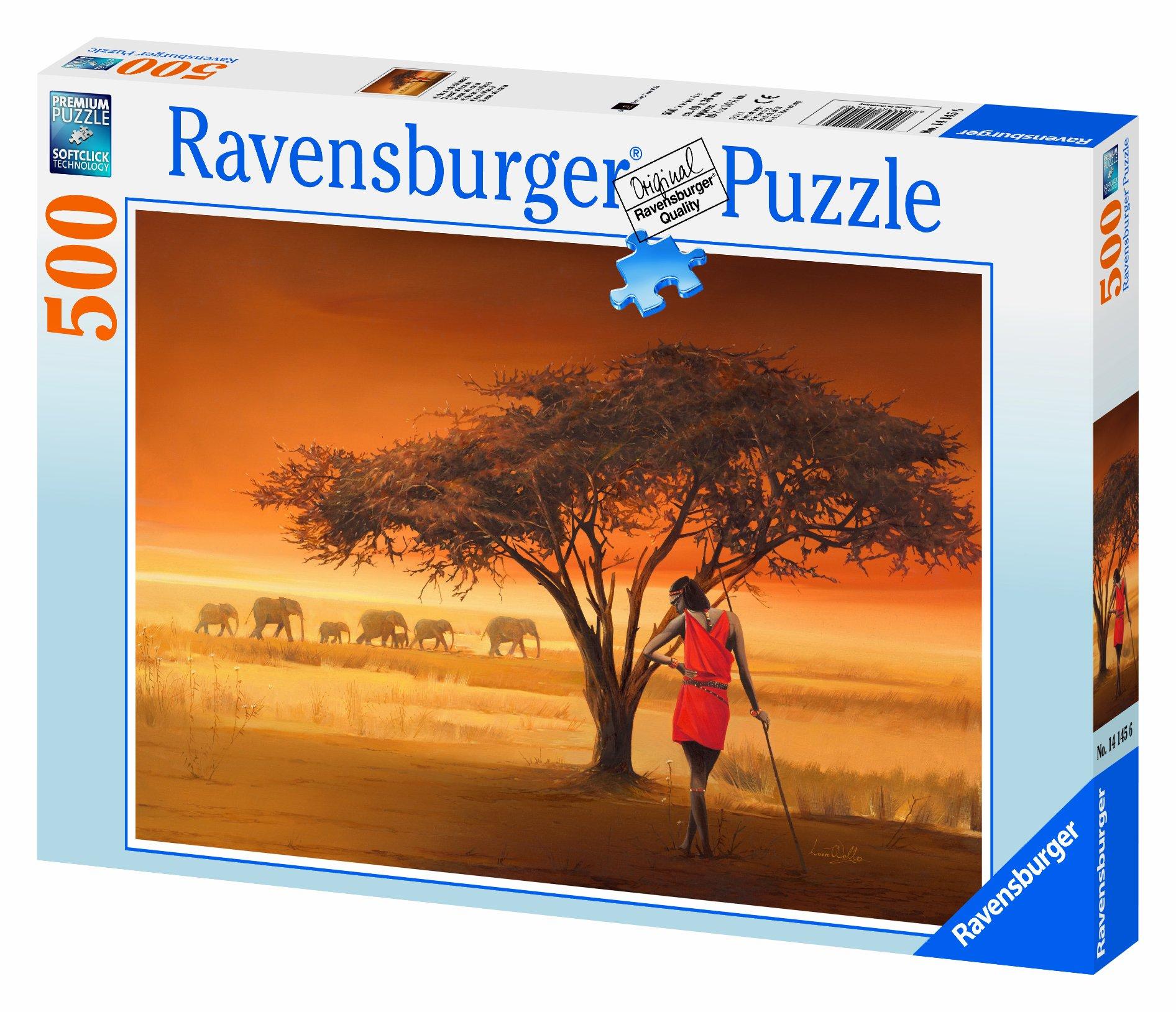 Ravensburger African Masai - 500 Pieces Puzzle