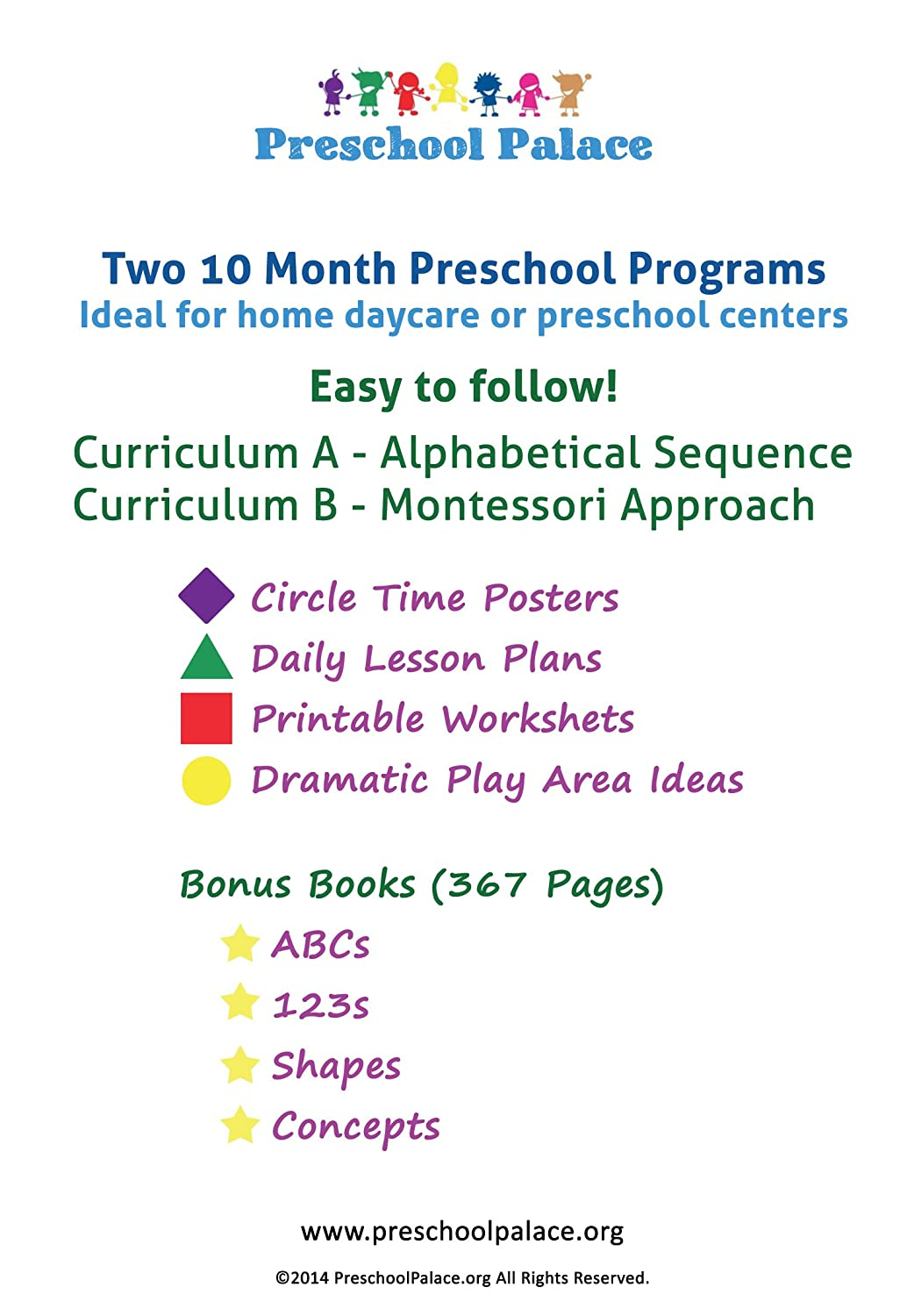 The Ultimate Preschool Curriculum Kit - Workbooks and Lesson Plans ...