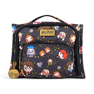 JuJuBe x Harry Potter Mini BFF Kids Backpack | Multi-Functional Convertible + Messenger Bag | Travel Friendly, Stylish Diaper Backpack | Cheering Charms