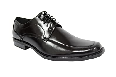 Stacy Adams Size 12 Leather Mens Square Toe black shoes Lace Up Dress Business